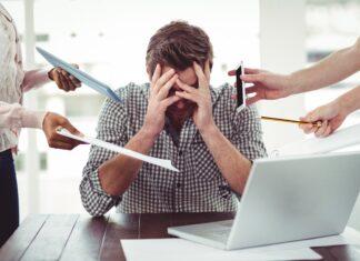 sposoby na stres w pracy
