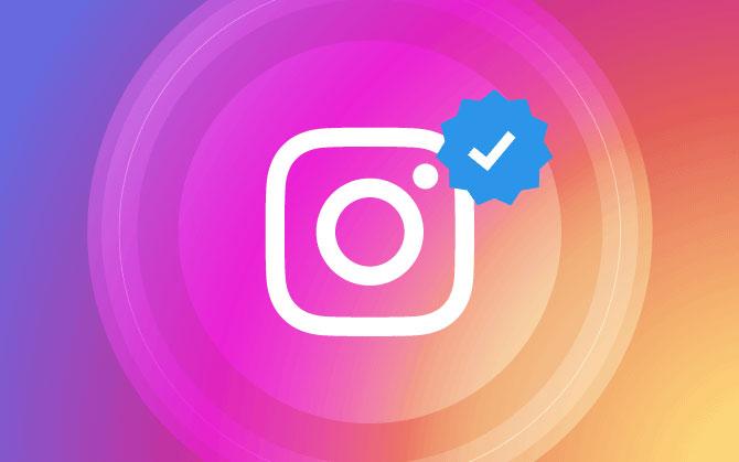 Znaczek weryfikacji na Instagramie